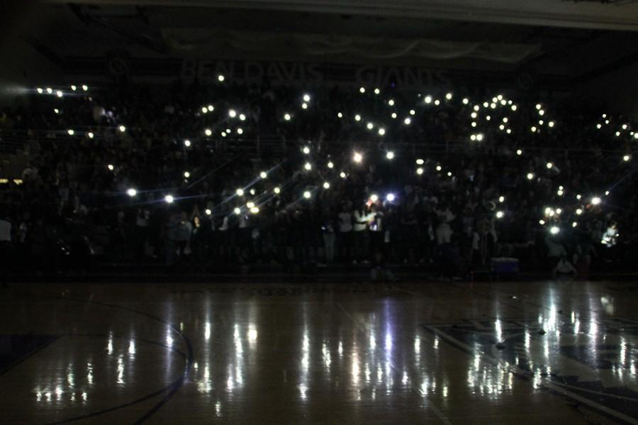School sends team off with big rally