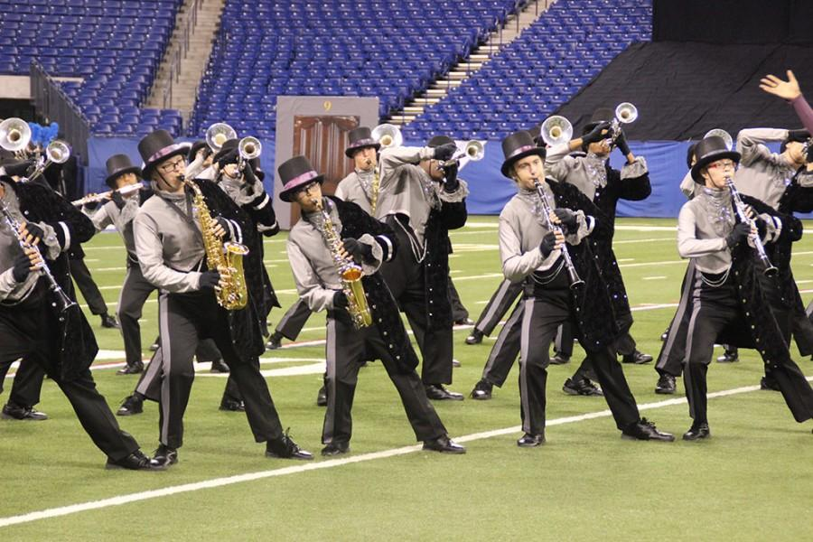 Band finishes 9th in state finals