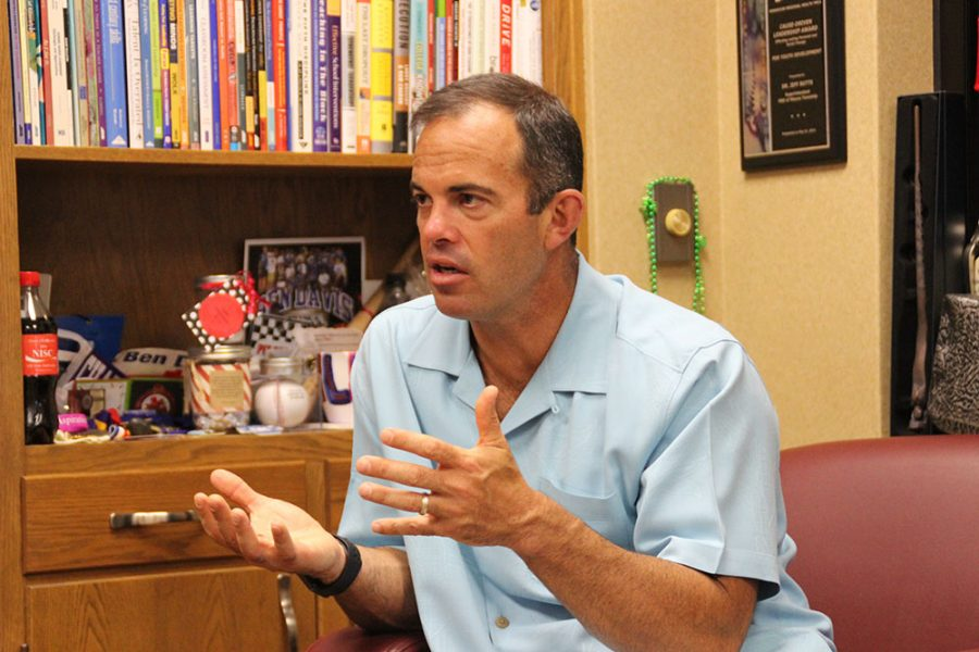 Butts enters sixth full year as superintendent