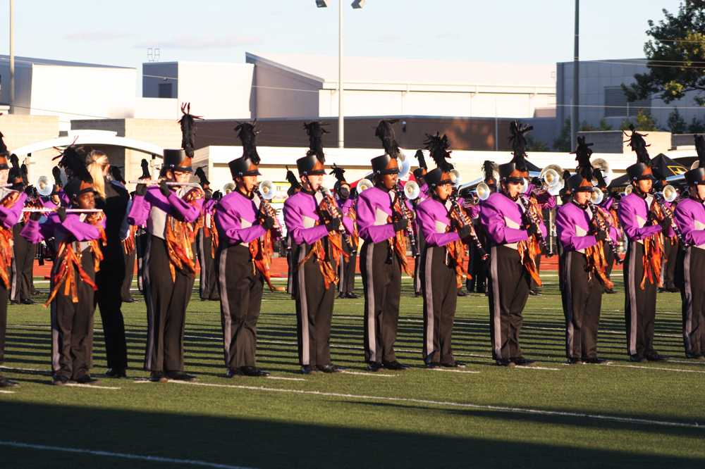 Profile: marching band drum majors