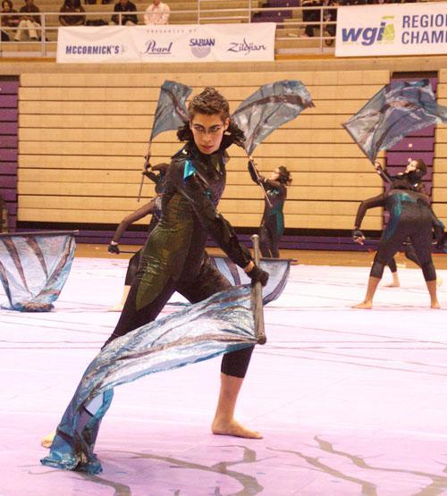Winter Guard works towards success