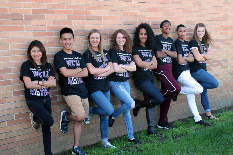 The 2015 Senior Class Officers are (left to right) Mariana Lagunas, Thomas Kee, Emily Bigley (vice president), Autum Lewis, Liwam Beraki, Amanuel Araya, Marvin Bills (secretary) and Brooke Ferguson (president). 2015 Senior Class Officers   left to right . . . . . . . .Mariana Lagunas, Thomas Kee, Emily Bigley-vice president, Autum Lewis, Liwam Beraki, Amanuel Araya, Marvin Bills-secretary, Brooke Ferguson - president