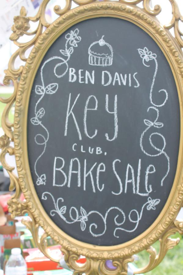 Key Club students sold baked goods at the Ben Davis booth to benefit the cause.