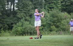 Senior Ellie Neff led the girls golf team in scoring average last season.