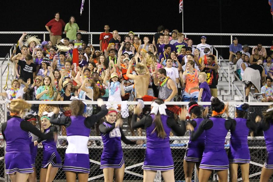 Purple rain came out in full force last week at Avon. The theme tomorrow night is White Out as the Giants travel to No. 5 Pike.