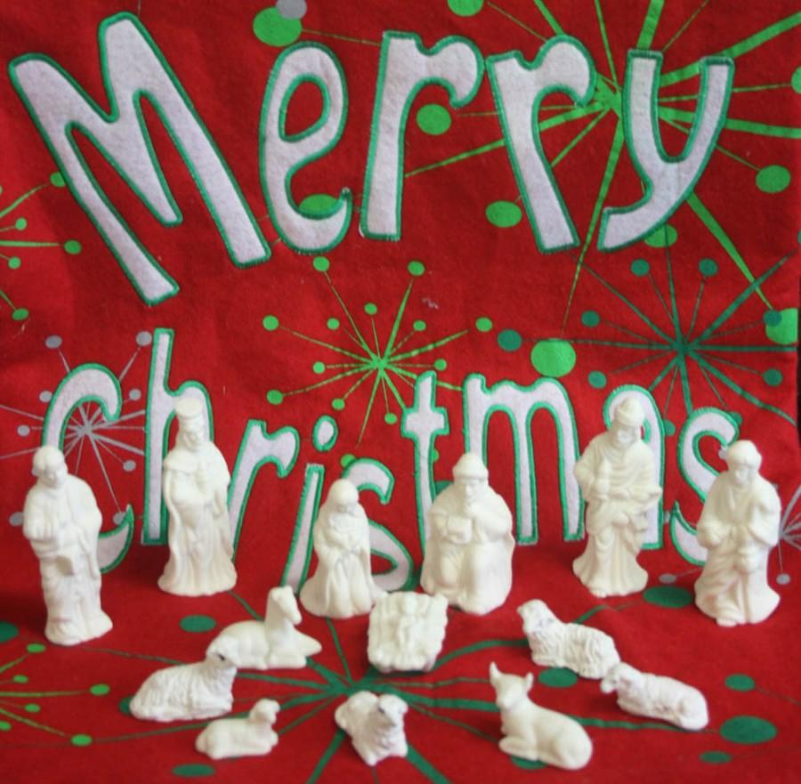 How did Christmas symbols become associated with Christmas?