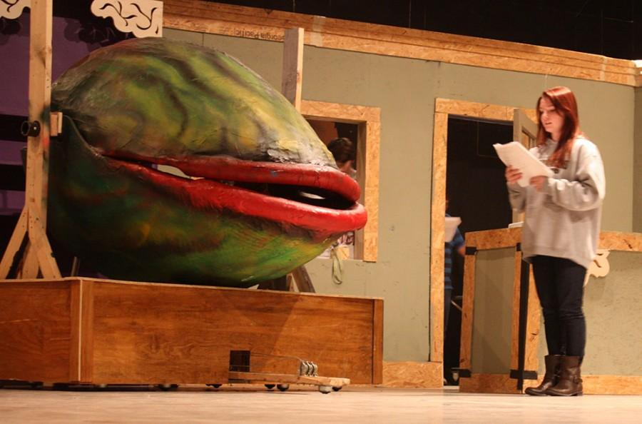 Sophomore Olivia Heifner plays Audrey in the upcoming performance of Little Shop of Horrors, which will be March 6-7 in the theatre.