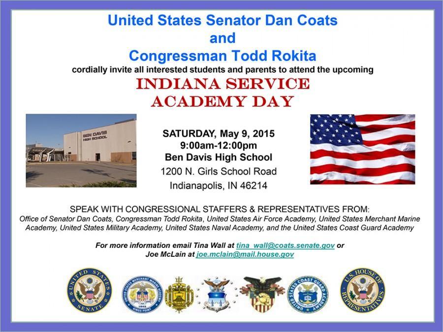 Ben+Davis+to+host+Service+Academy+Day