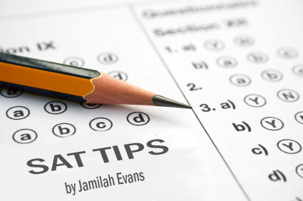 Try these tips for those SATs