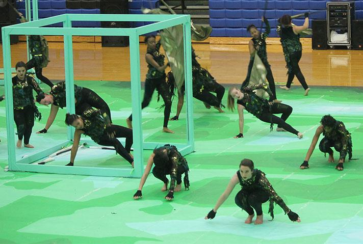 Gallery: Winter guard competition