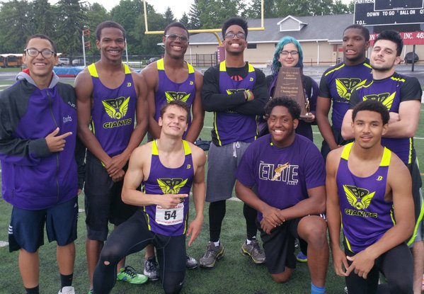 Boys win county track title