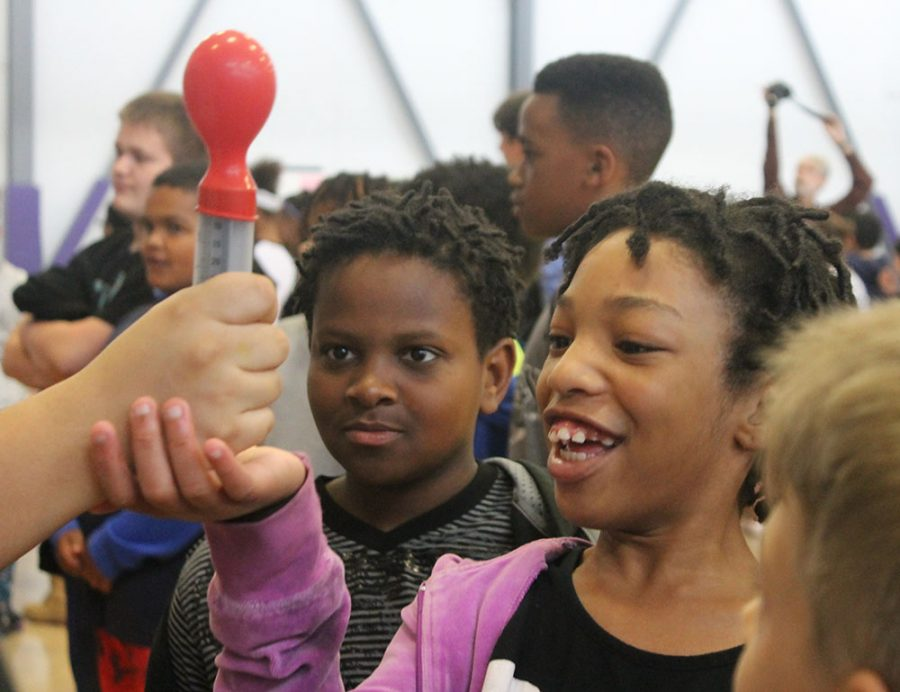 Giants host annual science fair