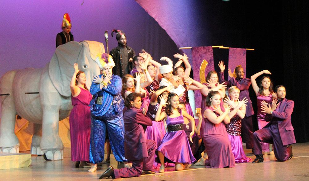 Township presents Aladdin