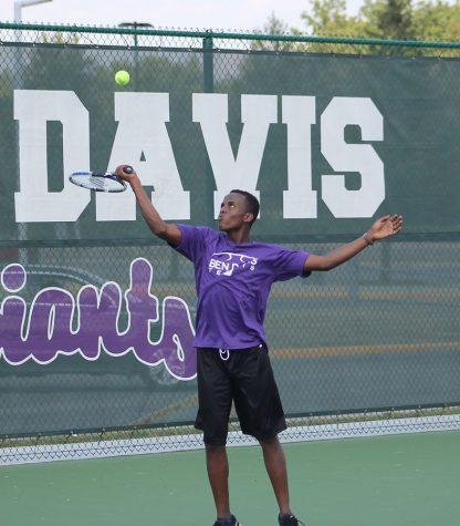 Gallary: Tennis scrimmage