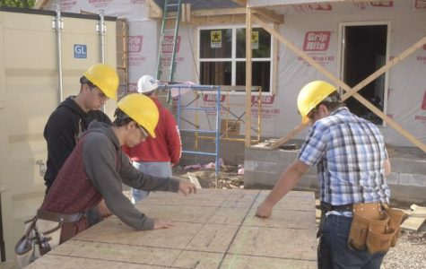 Work begins on second student-built home in west side neighborhood