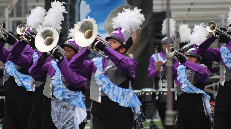 Marching band heads to state finals