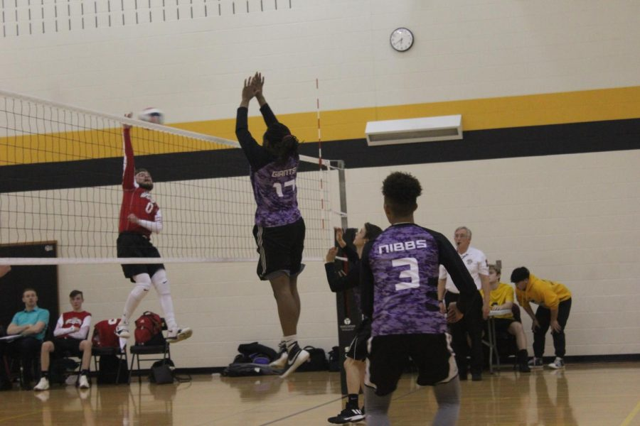 Gallery: Boys volleyball vs Lawrence North