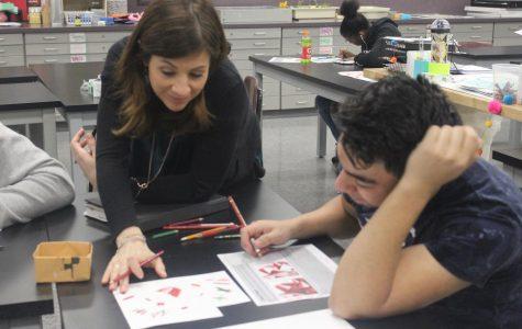 She's got that art for teaching