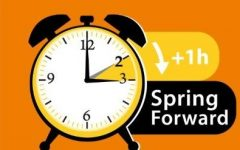 It is time to spring forward