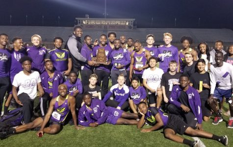 Giants capture boys track county title