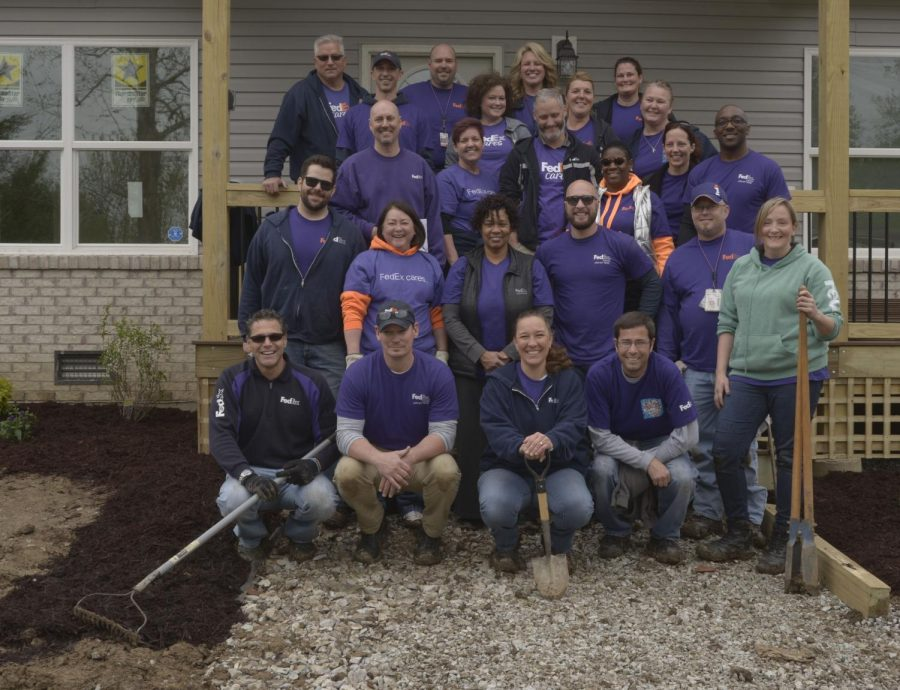 FedEx Cares supports student home-building project