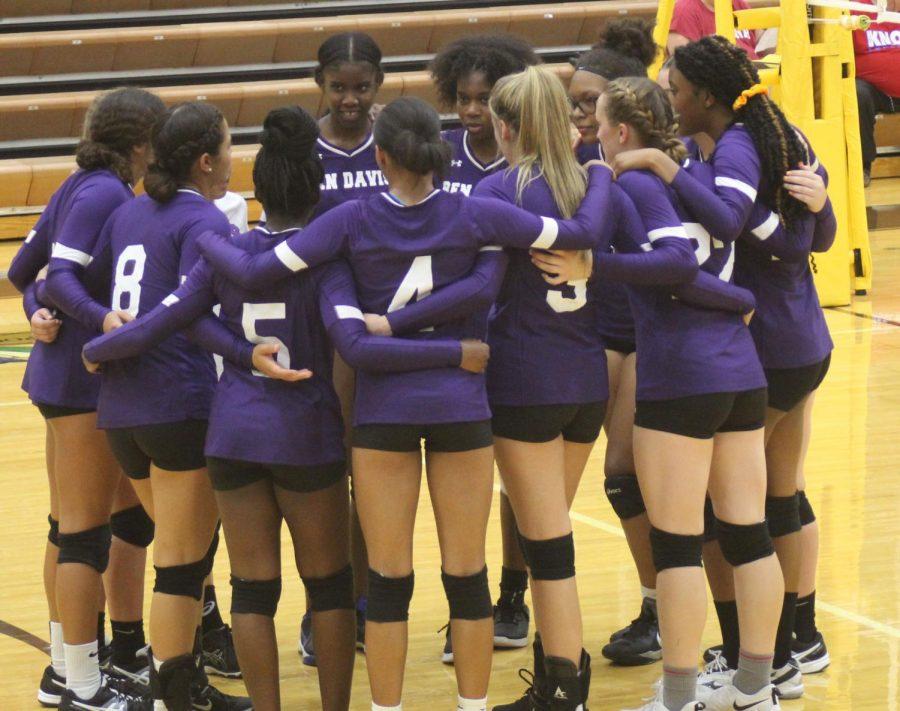 Gallery: Girls volleyball scrimmage