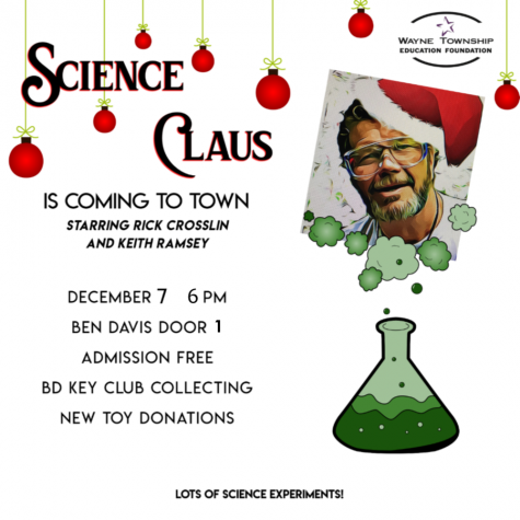 Science Claus is coming to town