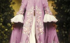 Model Anna Bayle wearing Christian Lacroix Haute