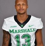 Thompson catches four passes in Marshall win