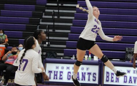 Volleyball team finding improvements