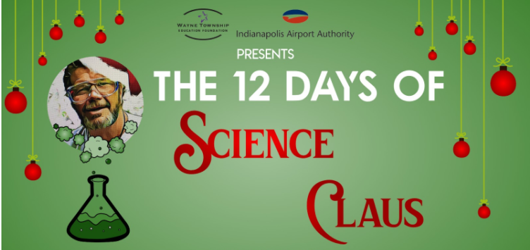 Science Claus goes virtual
