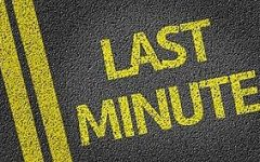 Do last minute changes cause you anxiety?