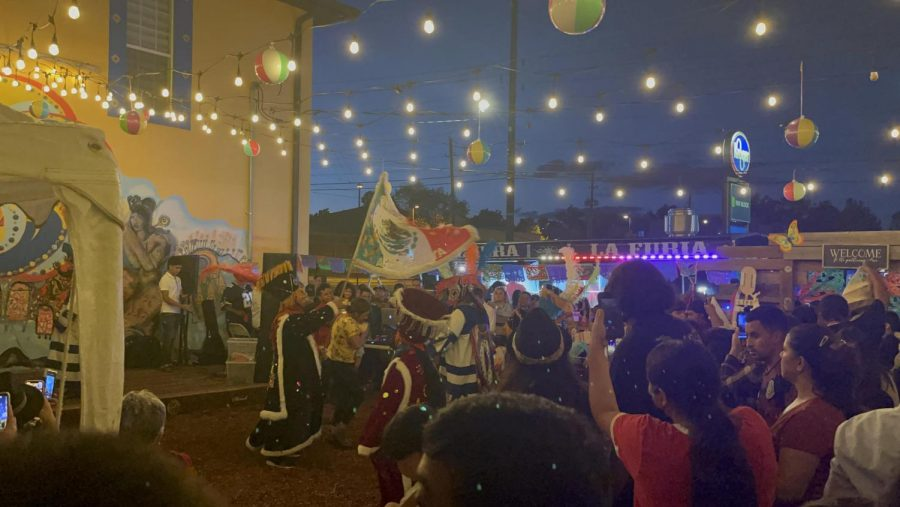 Mexicans celebrate their independence