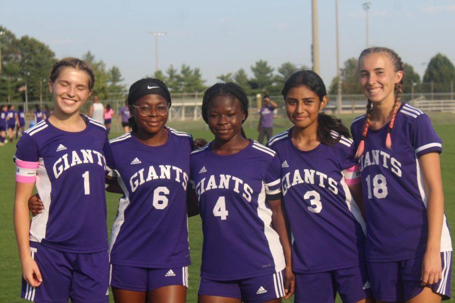 Girls soccer earns first win