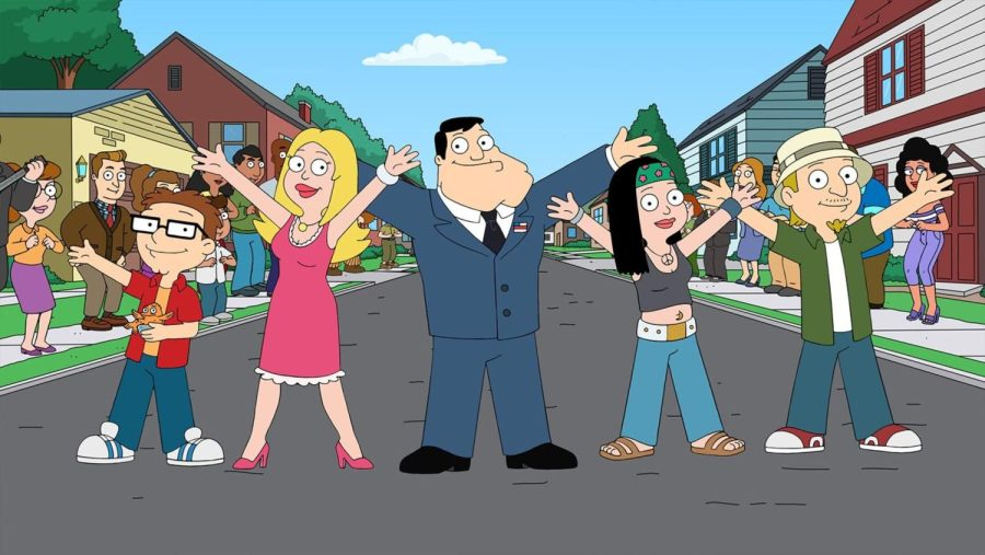 Although odd, American Dad has its moments